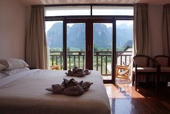 Naktsmītnes Silver Naga Hotel attēls vietā Vang Vieng