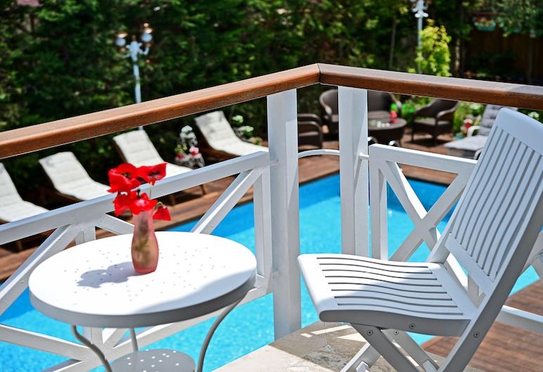 Bay C Hotel, Çeşme, Deluxe Tek Büyük Yataklı Oda, Balkon