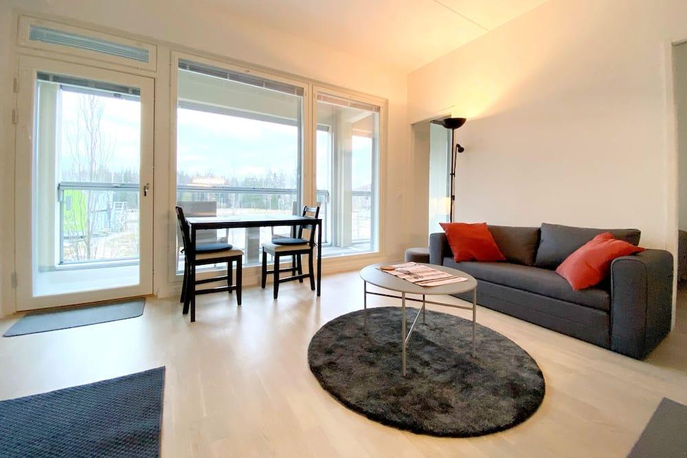 Superior Apartment with Balcony - Khu phòng khách
