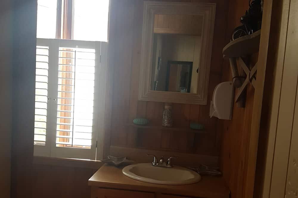 Apartmán typu Deluxe, 1 spálňa, súkromná kúpeľňa, výhľad na oceán - Kúpeľňa