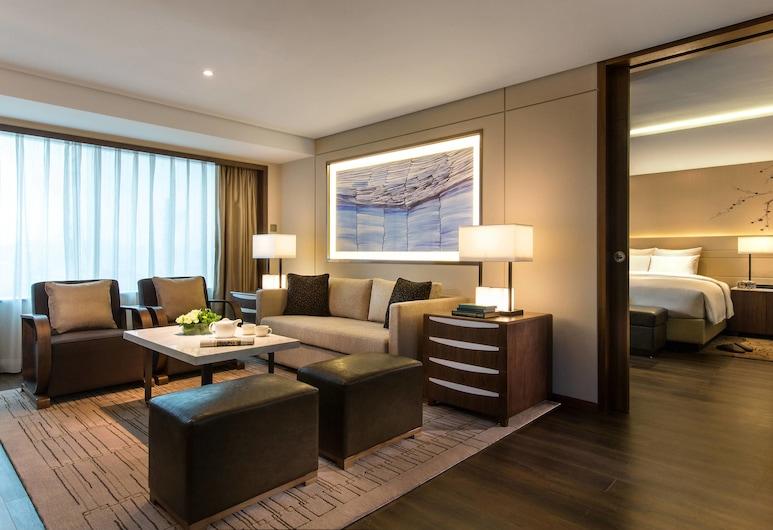 Teda, Tianjin-marriott Executive Apartments, Tianjin, Apartmán, 1 ložnice, Pokoj