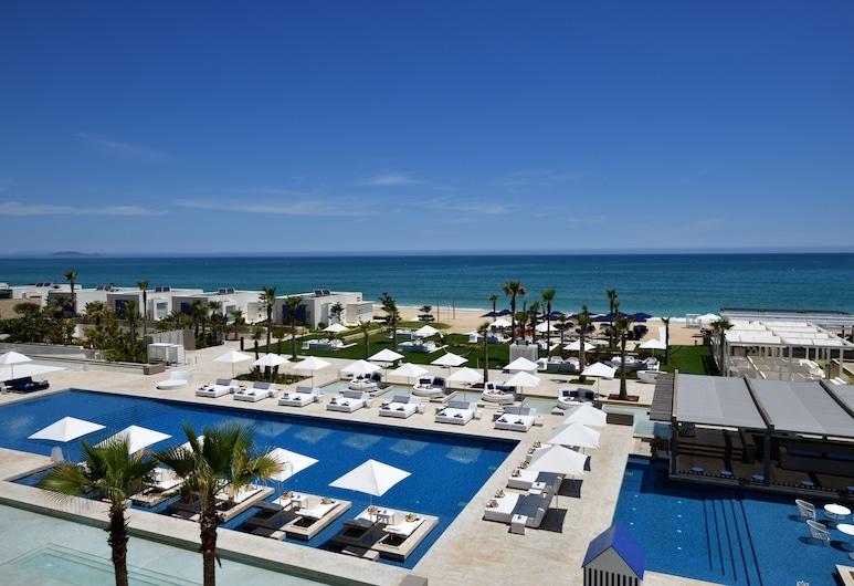 Sofitel Tamuda Bay Beach and Spa, M'diq, Luksus-værelse - 2 enkeltsenge - havudsigt, Strand-/havudsigt