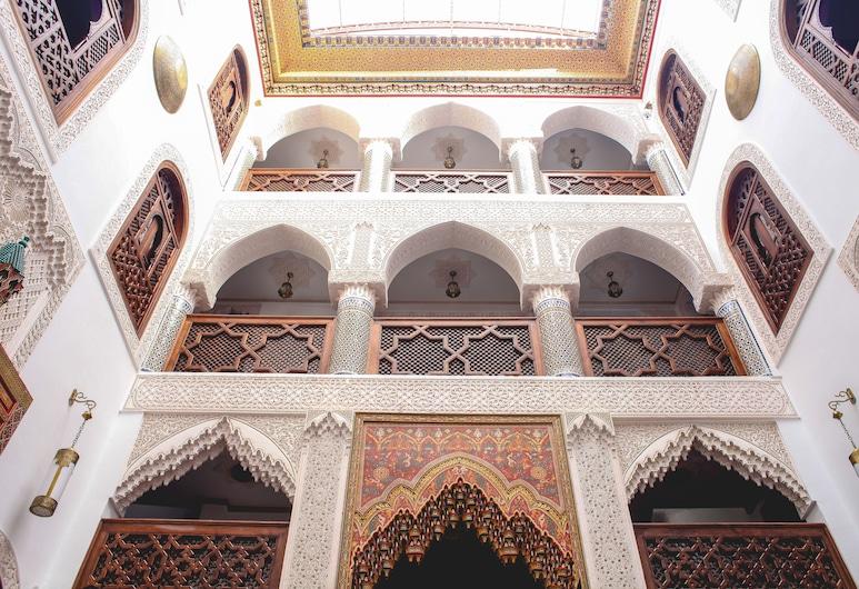 Riad Mazar Fes, Fez, Aspecto interior del hotel