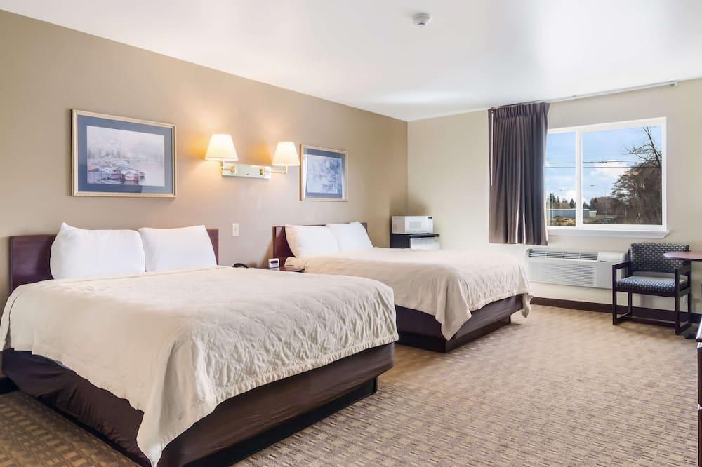 Habitación estándar, 2 camas de matrimonio - Habitación