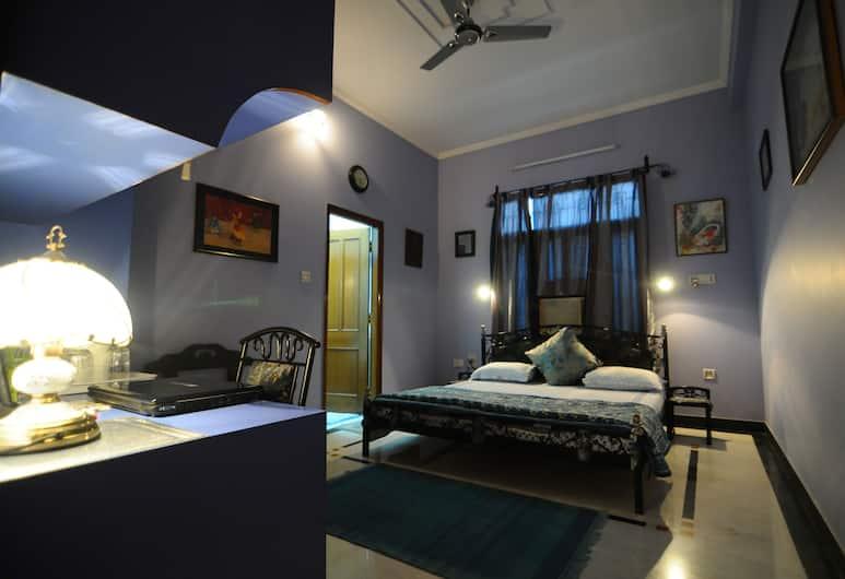 Jaipur Friendly Villa, Jaipur, Quarto casal superior, 2 quartos, Pátio, Quarto