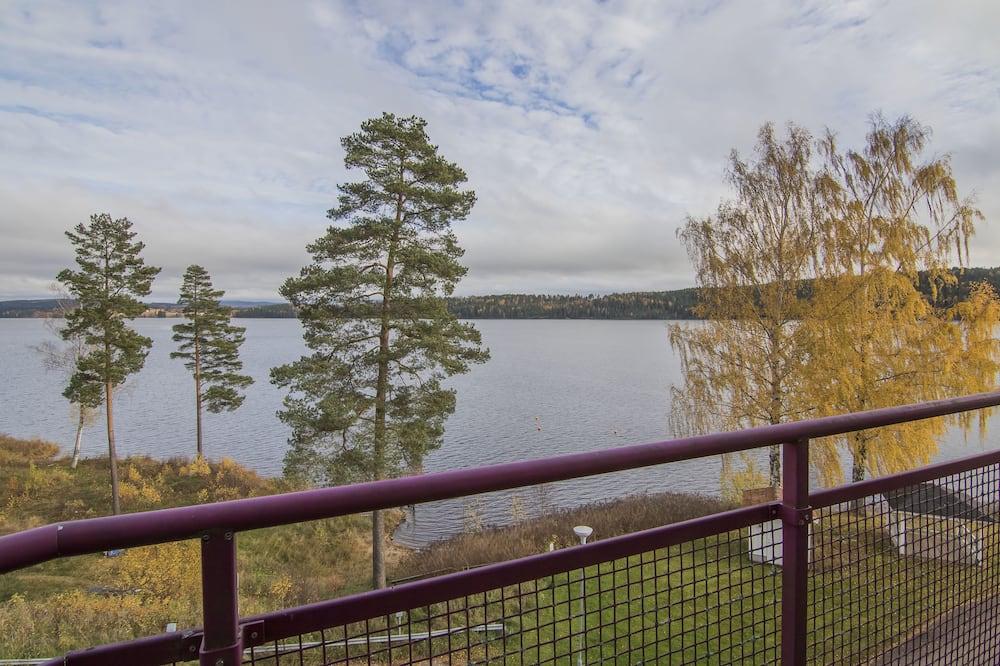 Dvivietis kambarys, balkonas, vaizdas į ežerą - Balkonas
