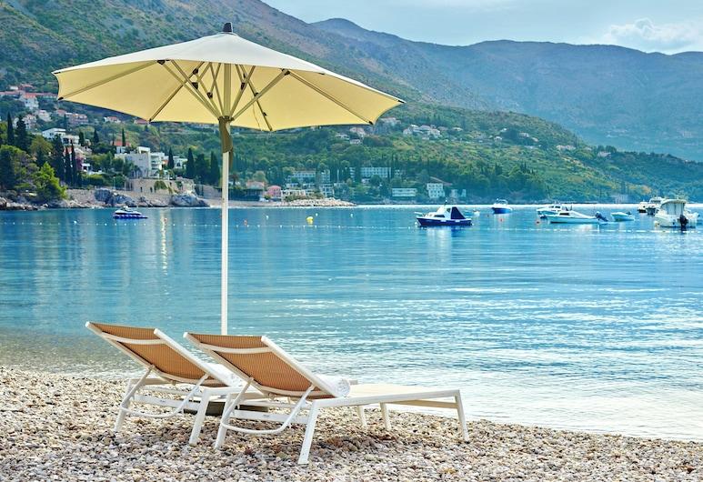 Sheraton Dubrovnik Riviera Hotel, Zupa dubrovacka, Beach