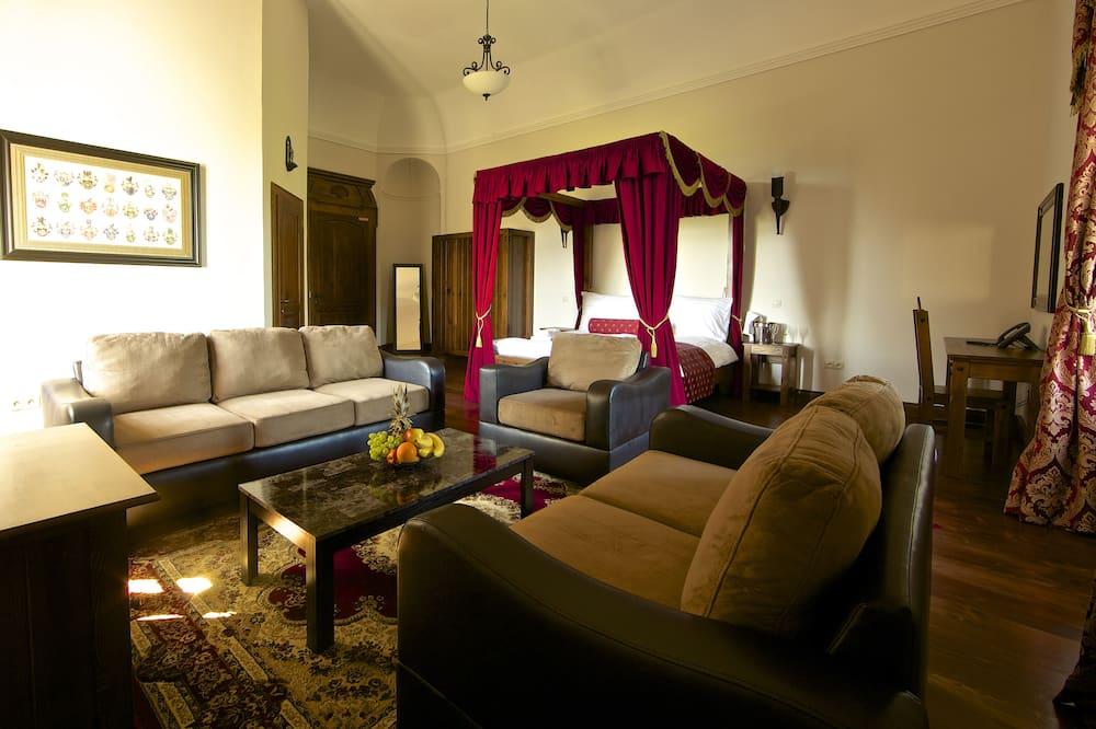 Habitación Deluxe, 1 habitación - Sala de estar