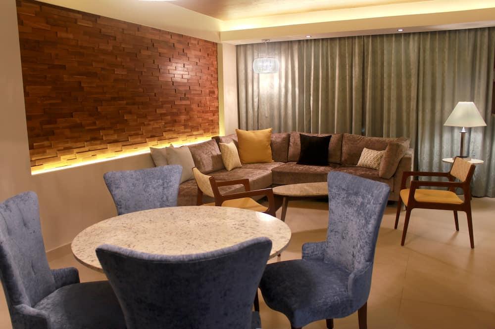 King Suite, Izba - Kúpeľňa