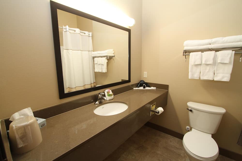 Standard Suite, 1 King Bed with Sofa bed, Accessible, Refrigerator & Microwave - Bathroom