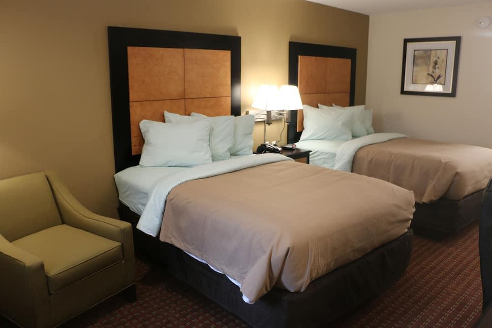 Standard-Doppelzimmer, 2Queen-Betten - Zimmer