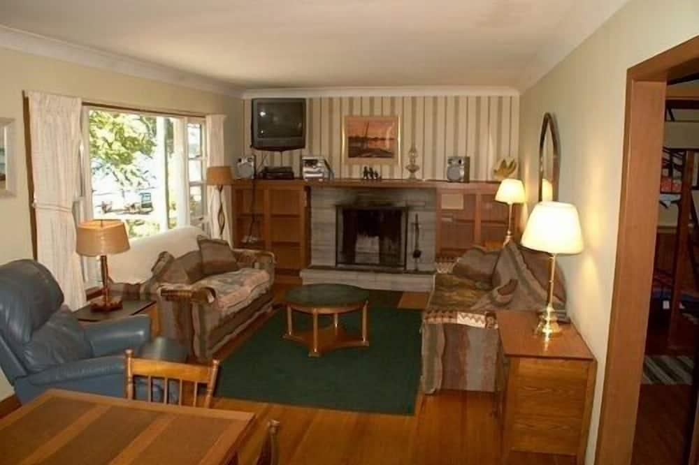 Házikó, 3 hálószobával - Nappali rész