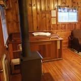Cabin, 1 Bedroom (Cabin 7 or 8 - In Room Hot Tub) - Bilik Rehat