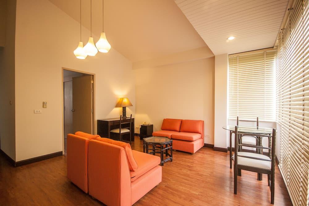Apartment, 1 Bedroom, River View - Bilik Rehat