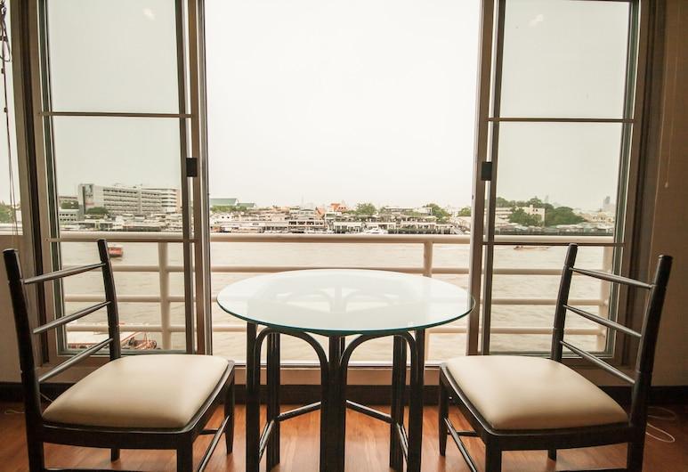 PSB1 アパートメント, バンコク, アパートメント 1 ベッドルーム リバービュー, テラス / パティオ