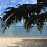 Standarta numurs, skats uz pludmali, pretī pludmalei - Viesu numurs