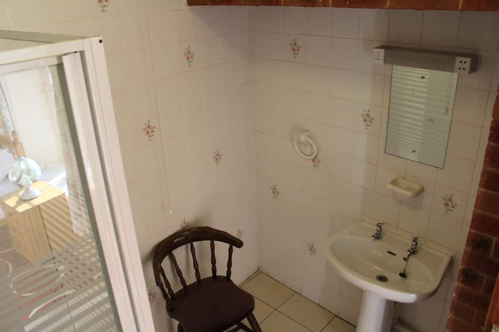 Vienvietīgs numurs, vannasistaba numurā - Vannasistaba