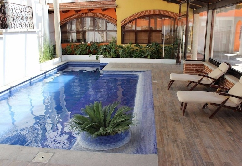 Hotel Cuamanco, Huamantla, Utomhuspool