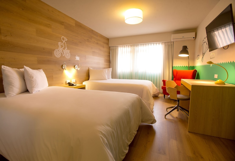 ibis Styles Lima Conquistadores, Lima, Standard Double Twin Room, Oda