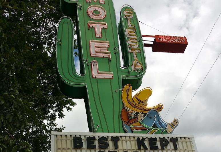 Siesta Motel, דורנגו, חזית המלון