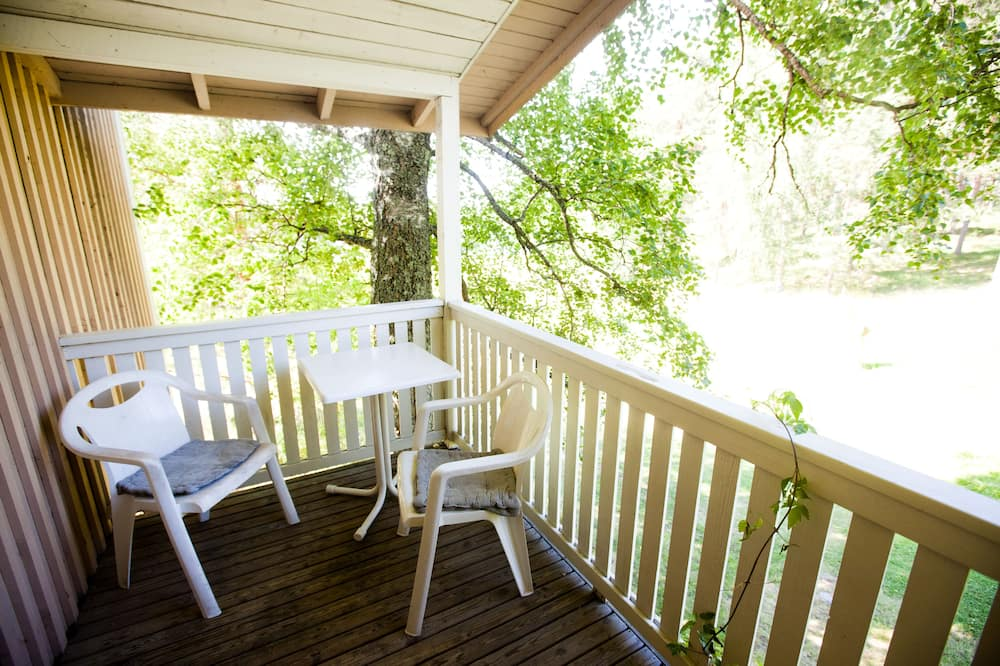 Standard Room, Garden View - Balkoni