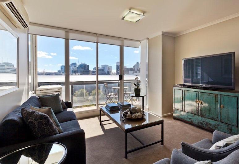 CitySide, Southbank, Apartmán, 2 spálne, 2 kúpeľne, Obývacie priestory