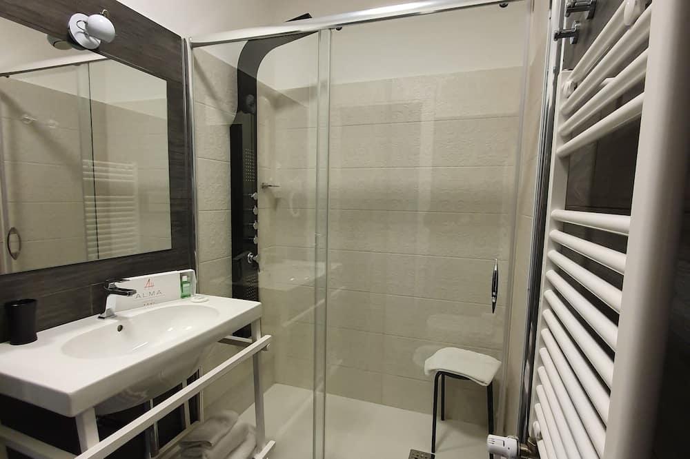 Standard-dobbeltværelse - balkon - Badeværelse