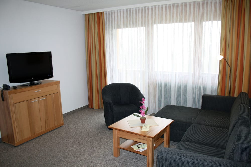 Apartmán, 1 ložnice (A2 incl. Chiemgau Card) - Obývací prostor