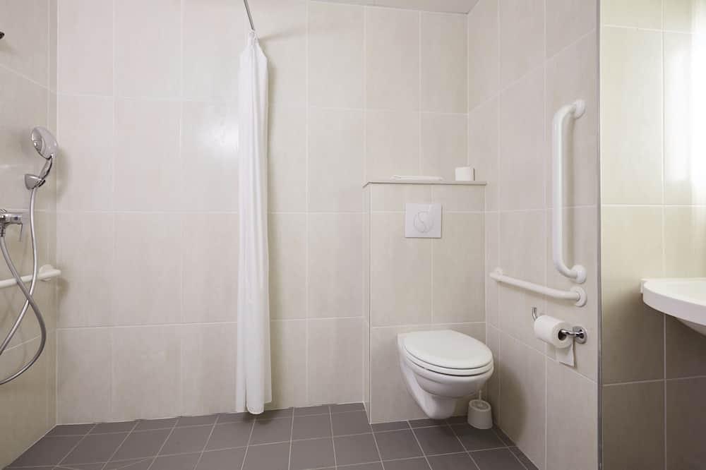 Dvokrevetna soba, pristup za osobe s invalidnošću, za nepušače - Kupaonica