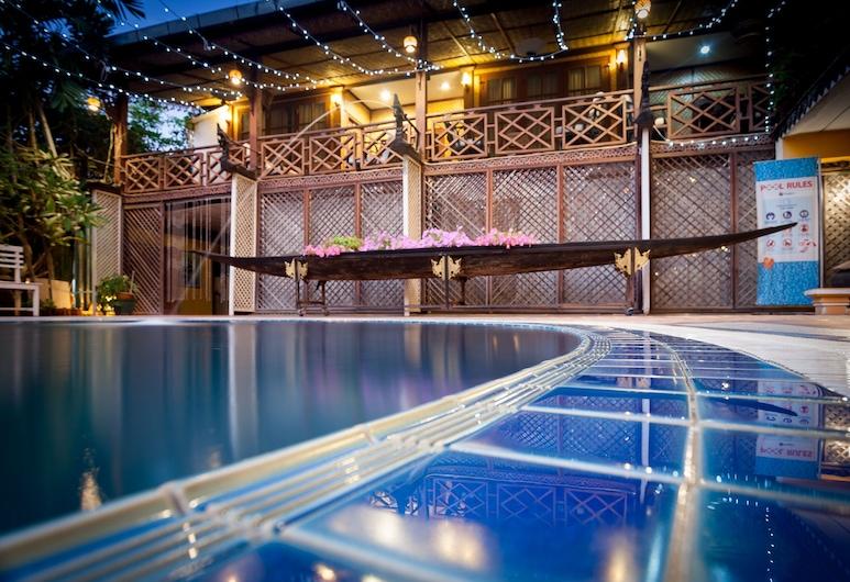 チャンダラ ブティック ホテル, ビエンチャン, 屋外プール