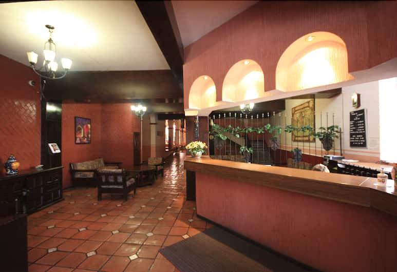 Hotel Posada de la Moneda, Zacatecas, Priestory na sedenie v hale