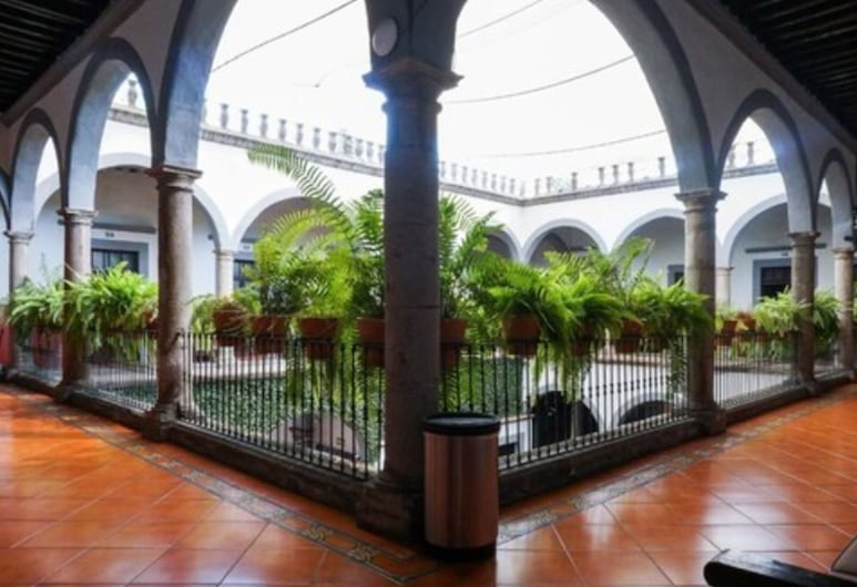 Hotel Hidalgo, Queretaro, Courtyard