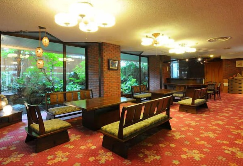 Asahiya Ryokan, Nozawaonsen, Lobby Sitting Area
