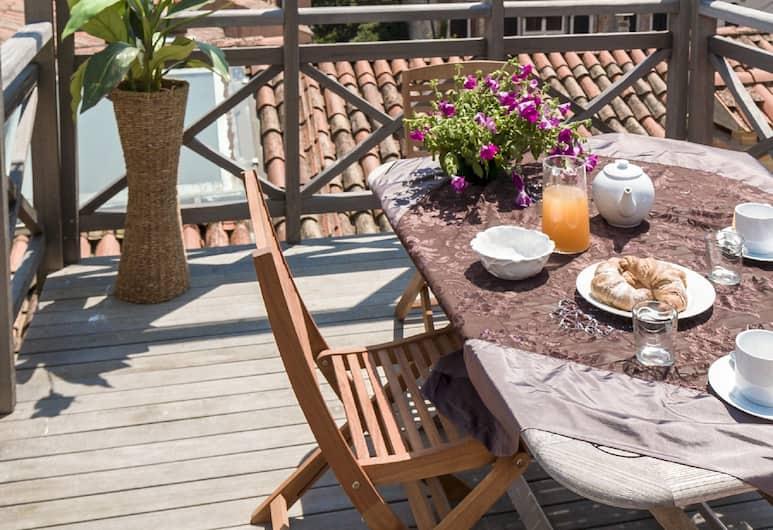 Accademia Charm Apartments, Venice, Appartamento Standard, 2 camere da letto, terrazzo (check-in location Santa Croce 515), Balcone