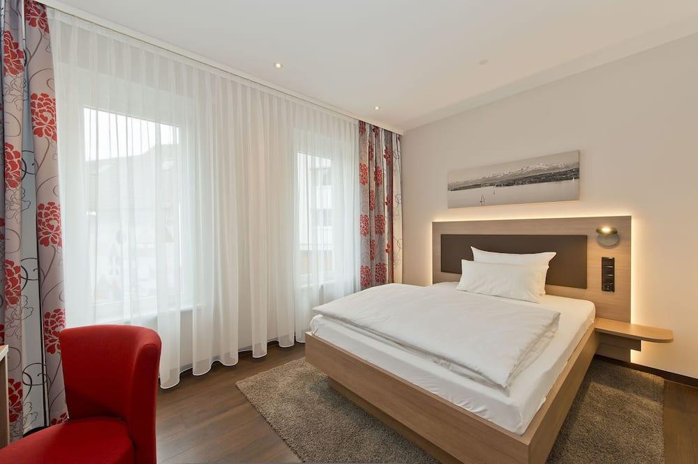 Deluxe tweepersoonskamer, voor 1 persoon, 1 slaapkamer, koelkast - Woonruimte