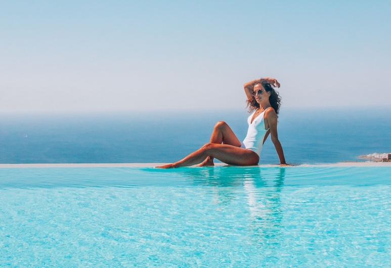 Aeolis Tinos Suites, Tinos, Infinity Pool