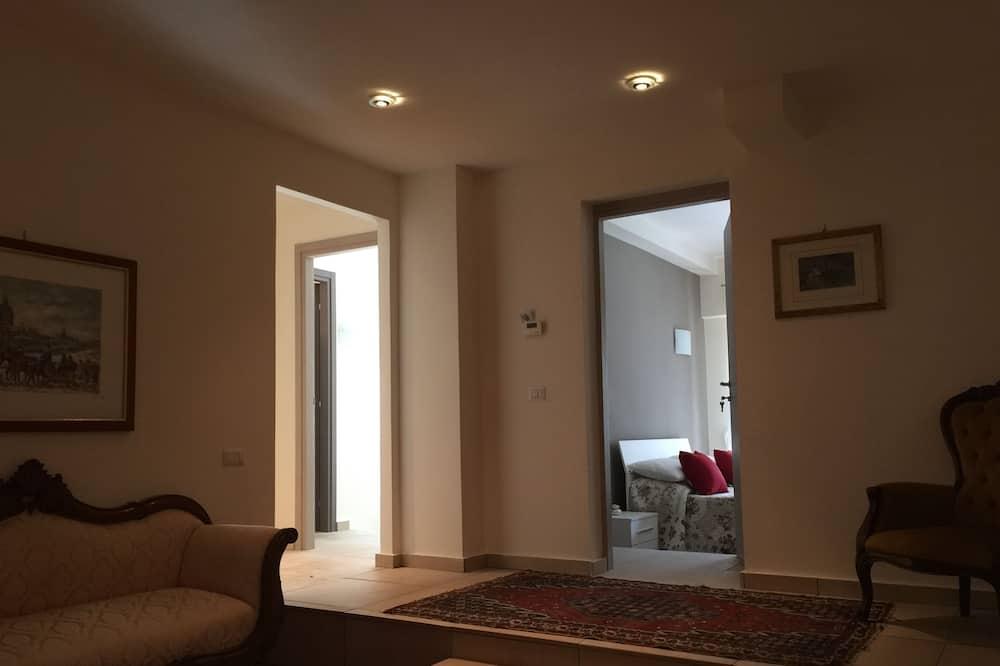 Quadruple Room, Private Bathroom - Living Area