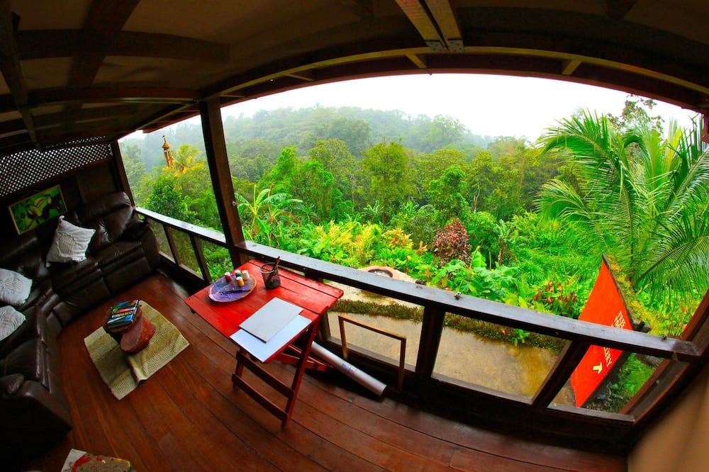 Apartament Panoramic, 1 sypialnia, częściowy widok na jezioro - Balkon