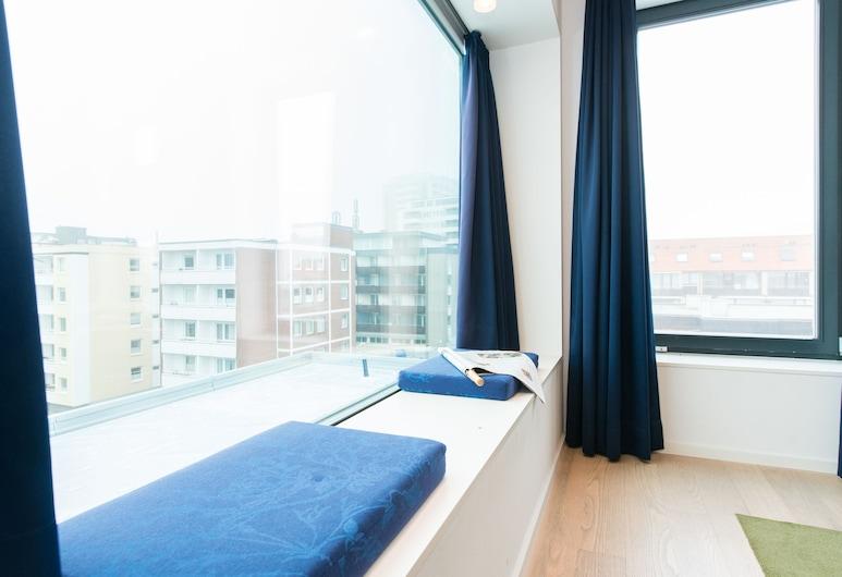 Hotel Niedersachsen, Sylt, Loftsleilighet, 1 kingsize-seng, Utsikt fra gjesterommet