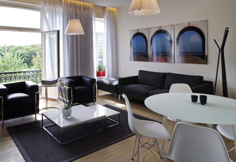 Leopold5 Luxe-Design Apartment, Ostend, Apartamento, 2 Quartos, Quarto