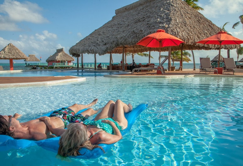 Costa Blu Beach Resort, Trademark Collection by Wyndham - Adults Only, San Pedro, Útilaug
