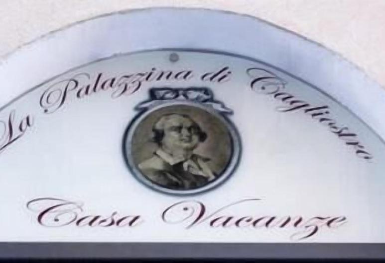 La Palazzina di Cagliostro, Palermo, Hotel Entrance