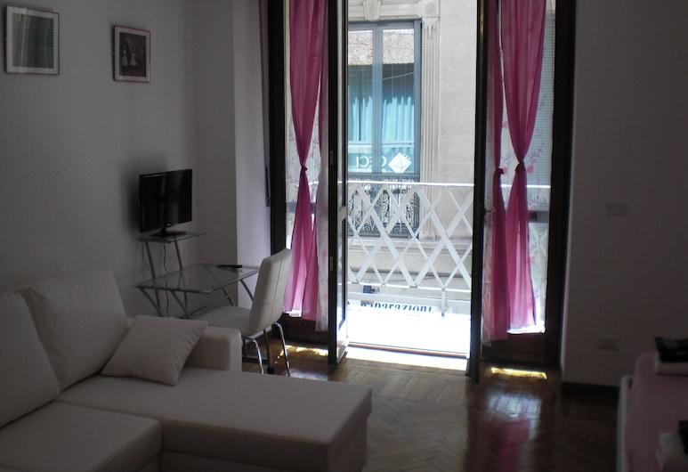 Flat in Milan - Duomo City Center, Milano, Appartamento, 1 camera da letto, angolo cottura (Duomo 1), Area soggiorno