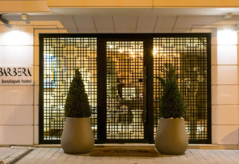 Barbera Hotel, Istanbul, Hotel Entrance