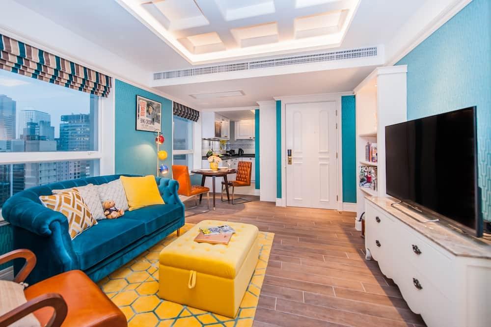 Suite Grand, 2 camas individuales - Sala de estar