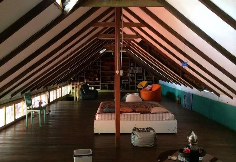 Cino Fabiani Guesthouse, Guayaquil, พาโนรามิกลอฟท์, 1 ห้องนอน, วิวแม่น้ำ, ห้องพัก
