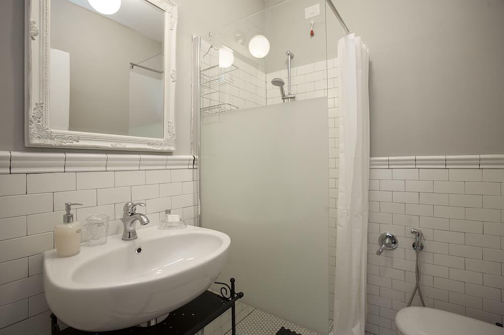 雙人房, 1 張特大雙人床, 露台 - 浴室