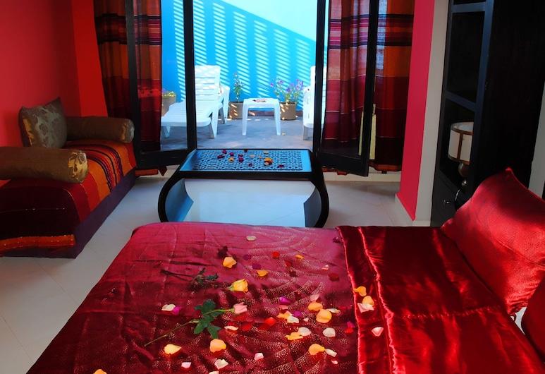 Riad Akiba, Essaouira, Room (Saturne Room), Bilik Tamu