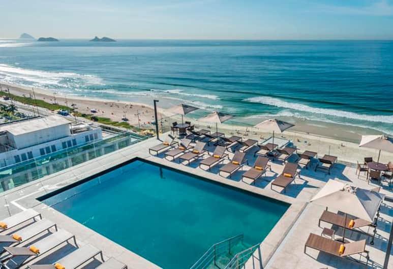 Windsor Marapendi, Rio de Janeiro, Terrasse/veranda