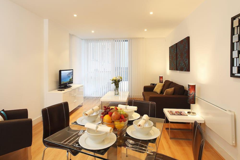 Apartmán, 1 spálňa, súkromná kúpeľňa - Obývacie priestory